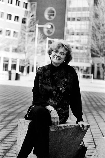 Prof. Nancy Hopkins says of President Vest,