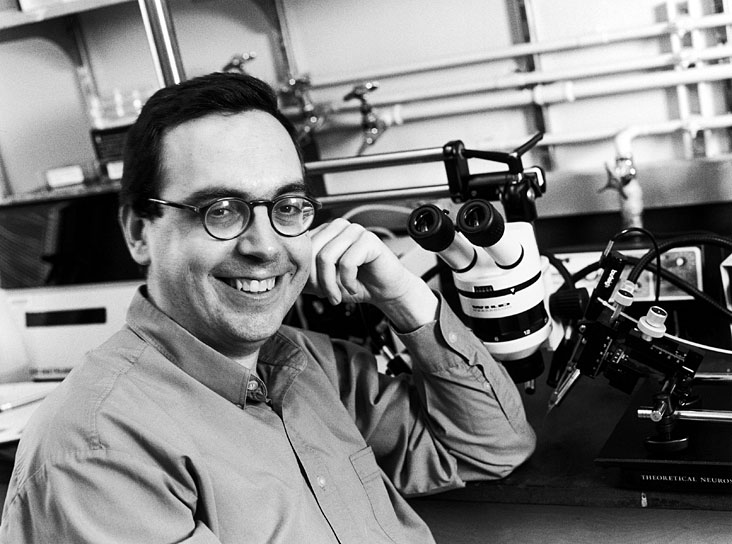 Carlos Lois, assistant professor of brain and cognitive sciences and a member of the Picower Center for Learning and Memory, is researching a way to grow new brain cells, which might one day replace those lost in Alzheimer's, Parkinson's, stroke, or injury. Photo: Ed Quinn