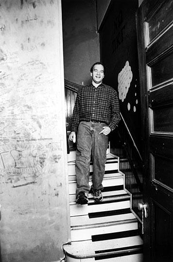 Junior Keith Durand steps to Mahler. Photo: Ed Quinn
