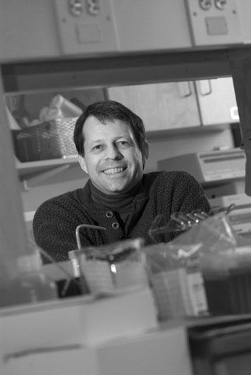 Prof. Edward DeLong made the surprise discovery that there are many kinds of ocean bacteria that draw on both sunlight and microscopic prey for energy. Photo: Ed Quinn