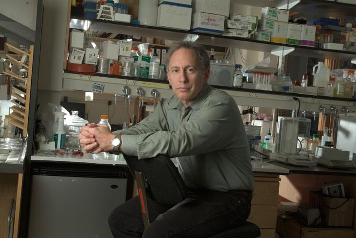 Prof. Robert Langer, along with a Harvard counterpart, runs a new $20 million Harvard-MIT collaboration, the Center for Cancer Nanotechnology Excellence. Photo: Ed Quinn