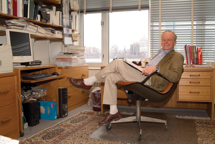 John Little is an inventor of marketing science, a field he helped to create in the last half of the 20th century. Photo: Ed Quinn