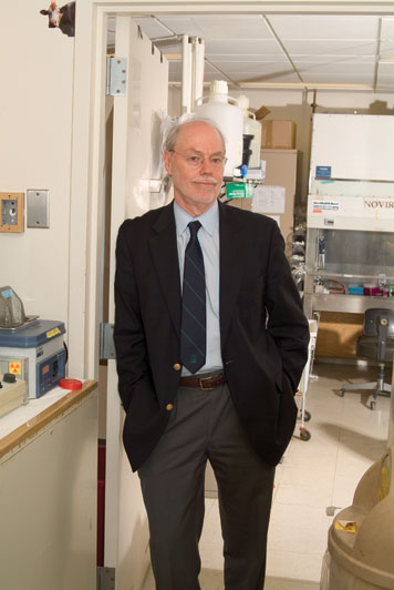 Phillip Sharp won the Nobel Prize for his work in RNA splicing, work that opened an entire area in molecular biology that forever changed the field. Photo: Ed Quinn