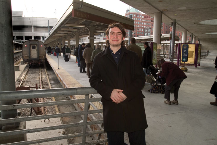 At 10, Anthony Rizos launched his own railroad Web site that was devoted to Amtrak train service. Soon the 10-year-old attracted the attention of the Associated Press, USA Today, and CNBC. Photo: Ed Quinn