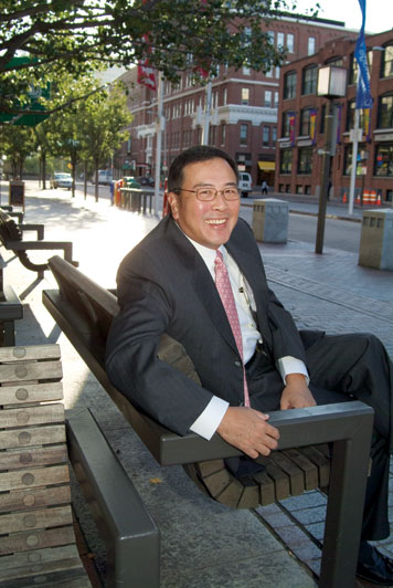 Anthony Sun believes that MIT students should work abroad. Photo: Ed Quinn