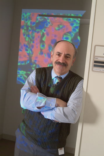 Prof. Robert Weinberg is leading an unprecedented effort to understand how and why cancer spreads. Photo: Ed Quinn