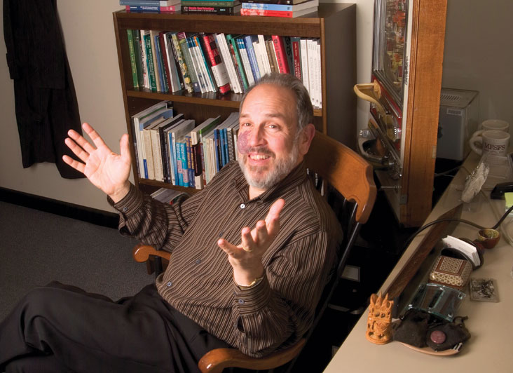 Prof. Larry Susskind has written a new book, which is an alternative to Robert's Rules of Order. Photo: Ed Quinn
