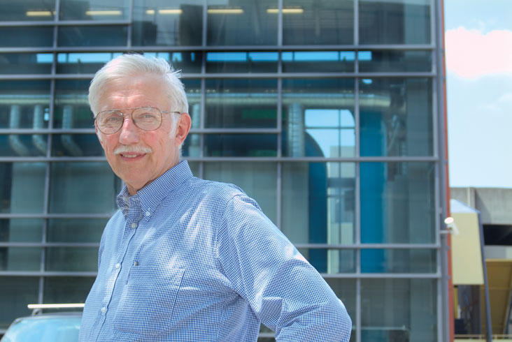 Denny Ellerman is exploring market-based mechanisms for controlling climate-threatening CO2 emissions. Photo: Ed Quinn
