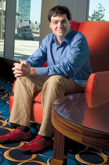 Prof. Dan Ariely explores in his latest book why people consistently make foolish economic choices. Photo: Ed Quinn