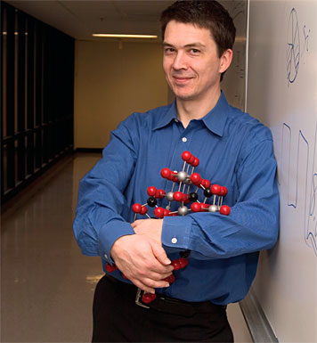 Prof. Gerbrand Ceder is doing his part to realize the promise of plug-ins. Photo: Ed Quinn