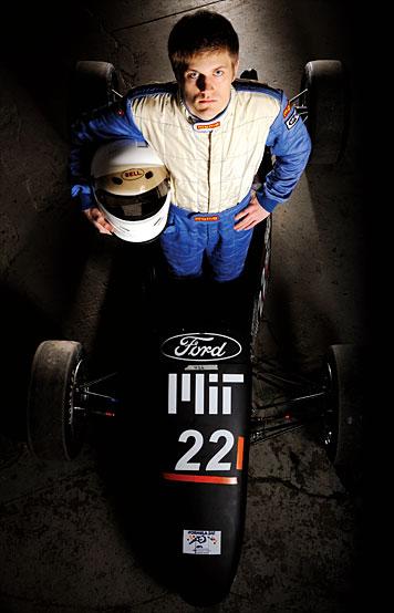 Reid Allen designed racecars for BMW in Munich. Photo: Len Rubenstein