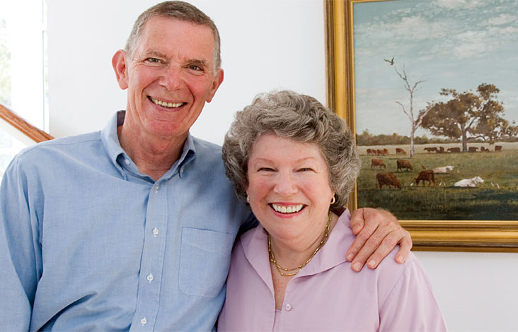 Jim and Pat Poitras say they hope their gift will help many in their lifetime. Photo: Chris Casler