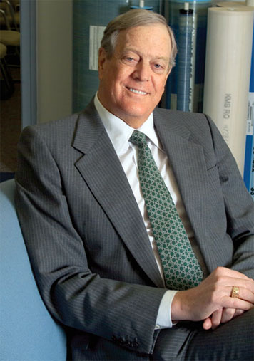 Cancer survivor David Koch gives $100M for cancer research. Photo: Ed Quinn