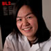 Prof. Evelyn Wang works with tiny crystals of zeolite.  Photo: Len Rubenstein