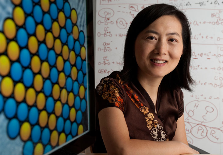 Yang Shao-Horn is tackling the world's energy problems.  Photo: Len Rubenstein
