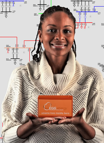 Rhonda Jordan co-founded a company that connects low-income customers in East Africa to electricity through a battery swapping service. Photo: Len Rubenstein