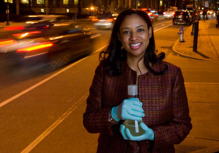 Kristala Jones Prather is working to develop a better biofuel. Photo: Len Rubenstein