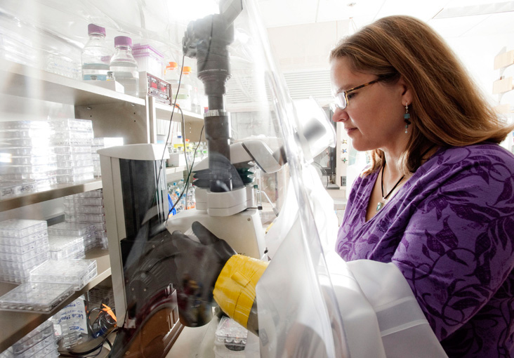 Catherine Drennan says it might one day be possible for enzymes to convert some of energy's waste products into energy. Photo: Len Rubenstein