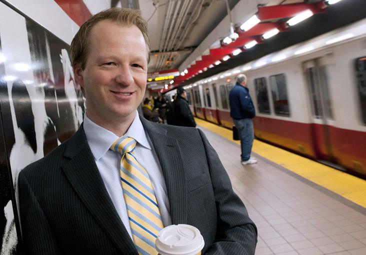 Christopher Knittel focuses on transportation policy. Photo: Len Rubenstein