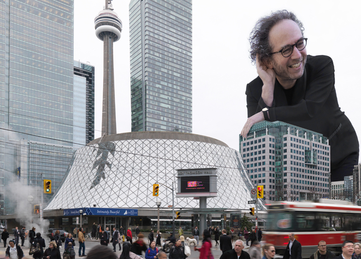 Composer Tod Machover is writing a symphony for the Toronto Symphony Orchestra and invited the whole city to collaborate with him. Photo: Andy Ryan