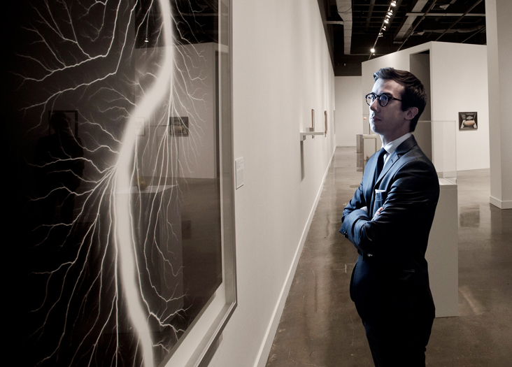 Joao Ribas is curator of the List Visual Arts Center. Photo: Len Rubenstein