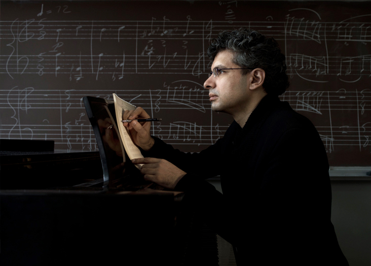 In a world of rising noise, composer Keeril Makan is an advocate of silence. Photo: Len Rubenstein