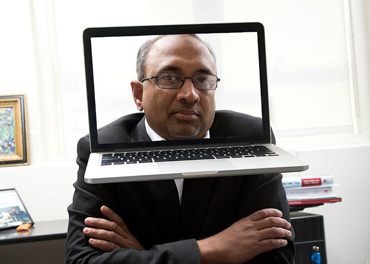 Sanjay Sarma is leading an educational revolution now underway in higher education. Photo illustration: Len Rubenstein