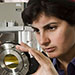 Nergis Mavalvala aims to detect gravitational waves, which are so aloof they've dodged efforts to track them down for a century. Photo: Len Rubenstein