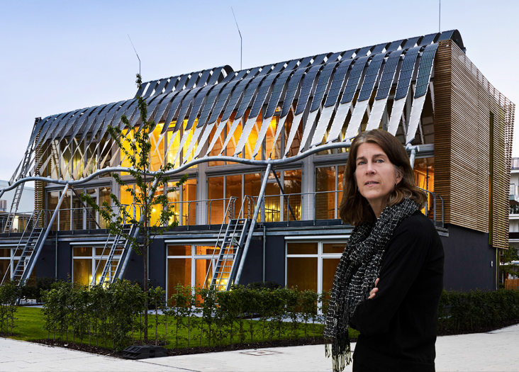 Sheila Kennedy creates a Soft House: Tough enough to withstand the harshest elements and to last a century. Len Rubenstein