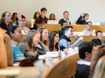 Students in MIT Sloan's S-Lab are tasked with researching sustainability strategies for real corporations and not-for-profits.