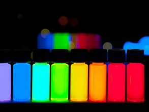 Quantum dots are nanocrystals made of semiconductor materials. Photo: Wikimedia Commons