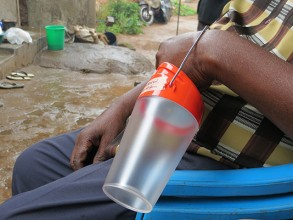 A new report offers an assessment of solar lanterns, such as the one pictured here. Image: Victor Lesniewski/MIT News