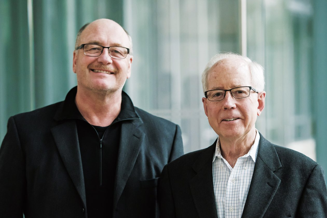 Joint Program co-directors John Reilly, left, and Ronald Prinn. Photo: Sarah Bastille