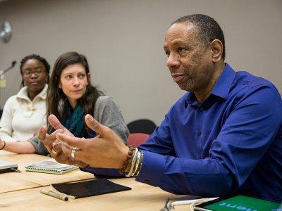 Professor Ceasar McDowell. Image: Leise Jones Photographyc