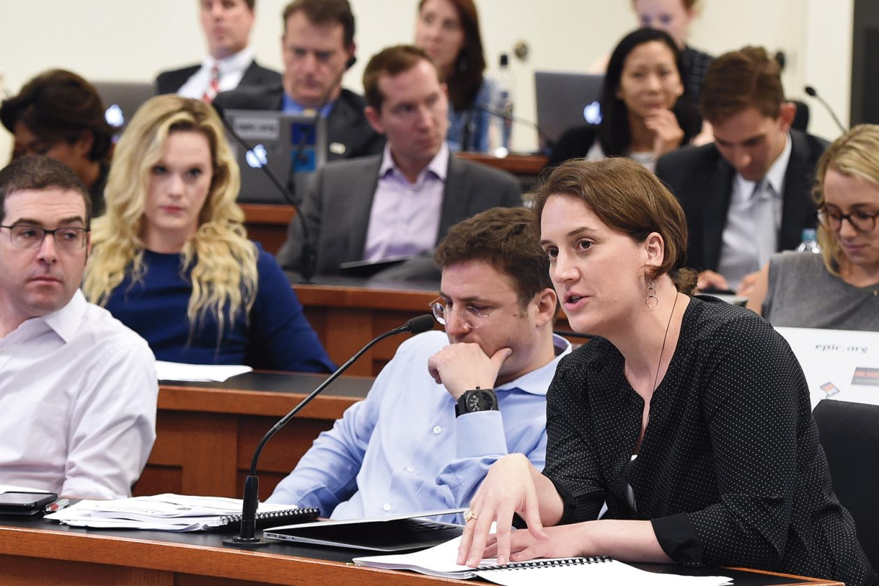 In April 2017, MIT students pitched their bills to judges including Jay Edelson of Edelson PC and Uber's Betsy Masiello. Photo: Bill Petros Photography