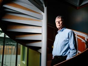 Michael Stonbraker. Photo: M. Scott Brauer/MIT News