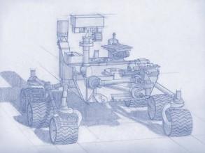Artist's concept of the Mars 2020 rover. Image: NASA/JPL-Caltech