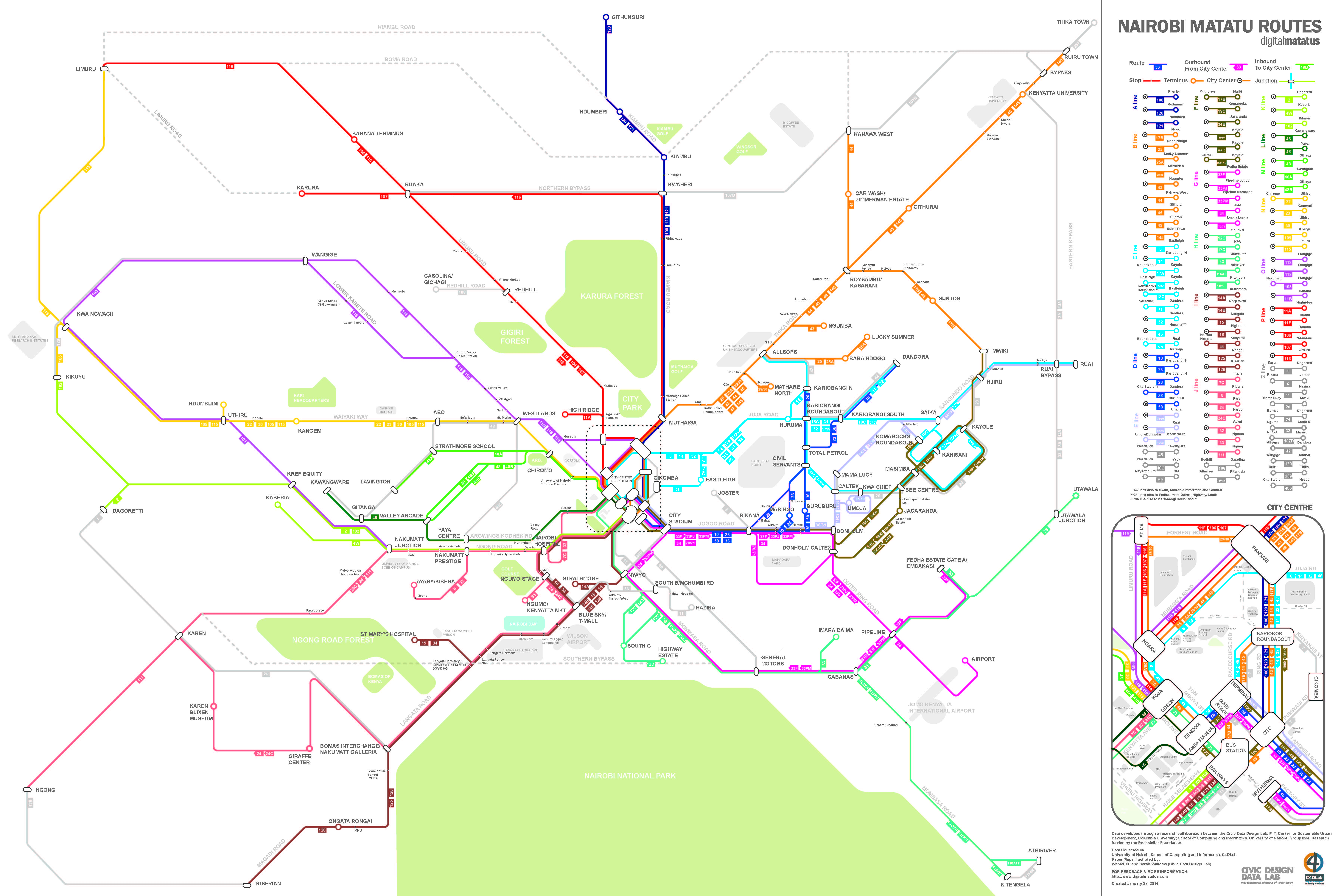 Researchers Map Nairobis Informal Bus System MIT Spectrum - Gps map data