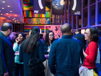 Guests mingle at the Better World (Houston) event in January 2018. Photo: Jared Jarvis Photography