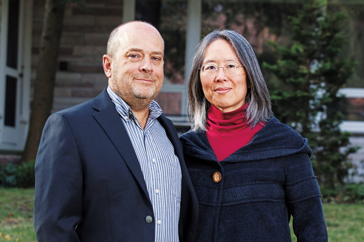 Caroline Huang SM '85, PhD '91 and Mike Phillips