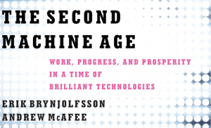 Image of the cover of The Second Machine Age, by Erik Brynjolfsson and Andrew McAfee