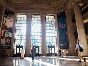 MIT Lobby 7. Photo: Jake Belcher