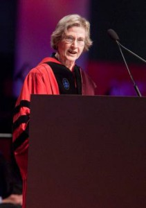 Professor emerita Lotte Bailyn says managers need to lead by example when it comes to work-life balance.  Image:  Brooks Canaday