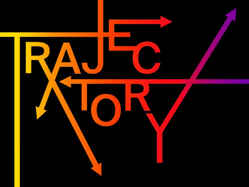 trajectory artwork