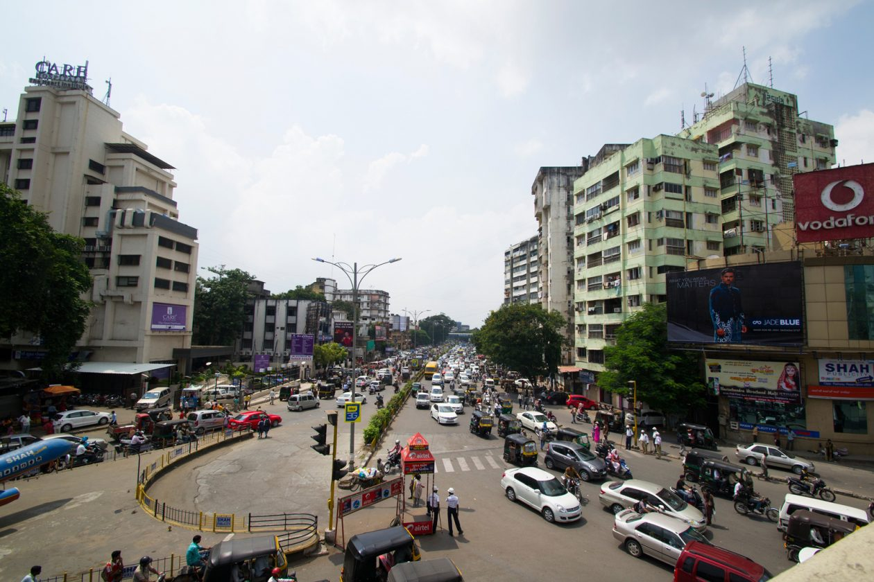 One project undertaken via J-PAL's King Climate Action Initiative centers on reducing air pollution in Surat, a city in Gujarat, India. Photo: CRS Photo / Shutterstock.com