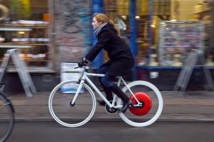 The Copenhagen Wheel, developed at MIT SENSEable City Lab