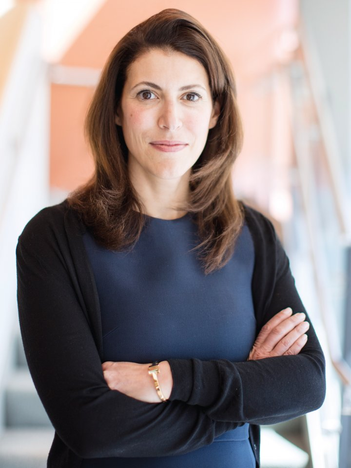Hala Fadel MBA '01. Photo: M. Scott Brauer