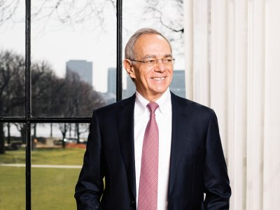 Photo of MIT President L. Rafael Reif