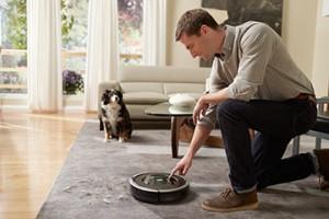 iRobot's vacuum cleaning robot, the Roomba. Image: iRobot