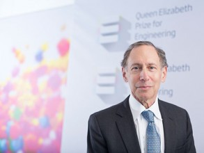 Institute professor Robert Langer ScD '74 was awarded the 2015 Queen Elizabeth Prize for Engineering for his revolutionary advances and leadership in engineering at the interface with chemistry and medicine. Image: Courtesy qeprize.org